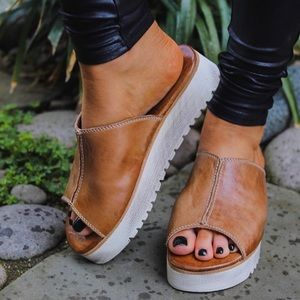 Bed Stu Fairlee II Sandal Size 6 B Distressed